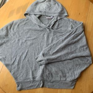 Grey Longsleeve Cozy Hoodie from Urban Outfitters